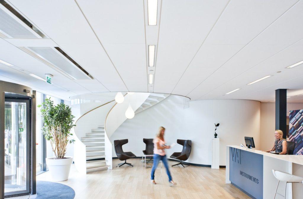 akustiktak på kontor