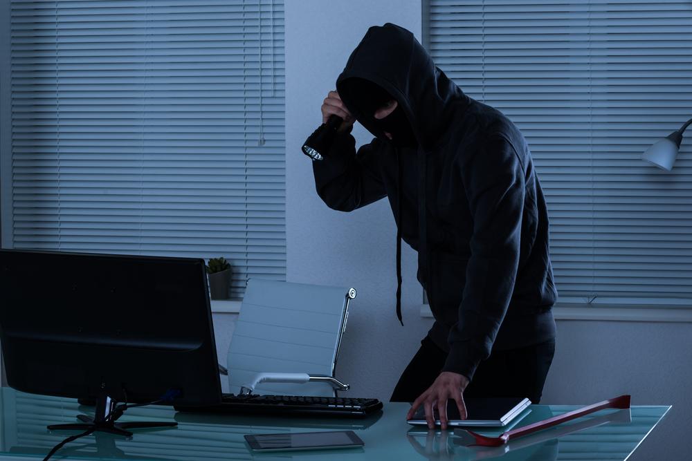 Inbrott på kontoret